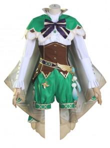 Genshin Impact Barbatos Venti Halloween Game Cosplay Costume Full Set