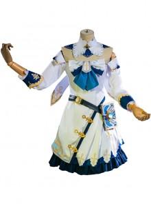 Genshin Impact Barbara Gunnhildr Daily Costume Halloween Game Cosplay Costume Full Set