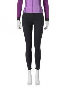 TV Drama Hawkeye Kate Bishop Purple Top Suit Style 2 Halloween Cosplay Costume Black Pants