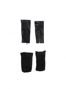 Avengers 2 Scarlet Witch Black Socks And Wristbands Halloween Cosplay