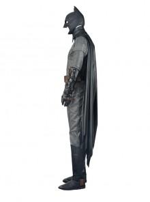 Batman v Superman Dawn of Justice Batman Halloween Cosplay Black Cloak
