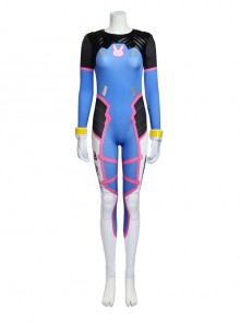 Overwatch D.VA Halloween Cosplay Costume Bodysuit