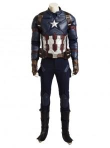 Captain America Civil War Captain America Cosplay Costume Upgraded Version Full Set