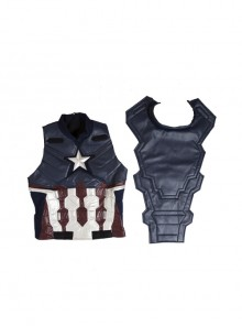 Captain America Civil War Captain America Cosplay Upgraded Version Costume Vest