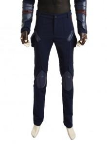 Captain America Civil War Captain America Cosplay Costume Upgraded Version Trousers