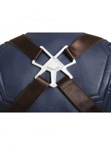 Captain America Civil War Captain America Cosplay Costume Upgraded Version Back Straps