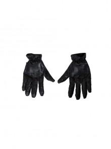 Batman Red Hood Jason Todd Halloween Cosplay Accessories Black Gloves