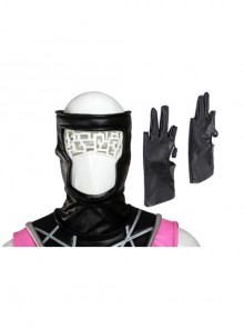 X-Men Gambit Remy LeBeau Halloween Cosplay Accessories Black Gloves And Headgear