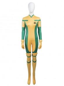 X-Men Rogue Anna Marie Halloween Cosplay Costume Bodysuit