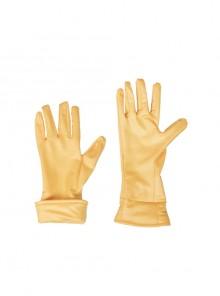 X-Men Rogue Anna Marie Halloween Cosplay Costume Yellow Gloves