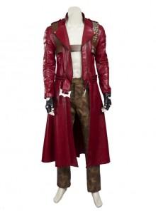 Devil May Cry 3 Dante Cosplay Costume Red Long Windbreaker Full Set