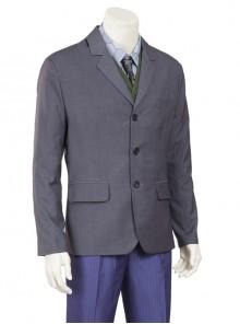 Batman The Dark Knight The Joker Gray Suit Jacket Halloween Cosplay Costume