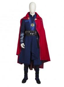 Doctor Strange Stephen Strange Halloween Cosplay Costume Full Set Without Necklace
