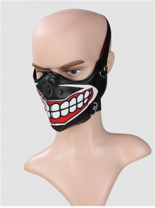 Punk Unisex Clown's Toothy Smile Mask