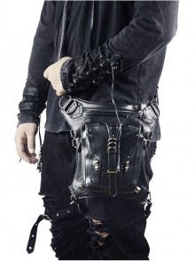 Steampunk Black Retro Unisex Shoulder Bag