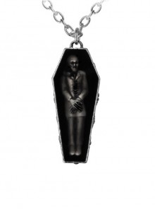 Punk Retro Zombie's Rest Pendant Gothic Necklace