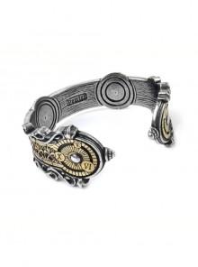 Steampunk Compass Design Retro Machinery Handmade Bracelet